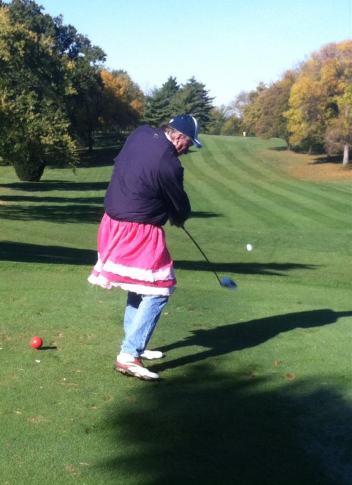 golfer in pink skirt_westview